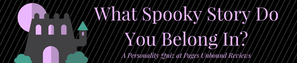 Spooky Story Halloween Personality Quiz Banner