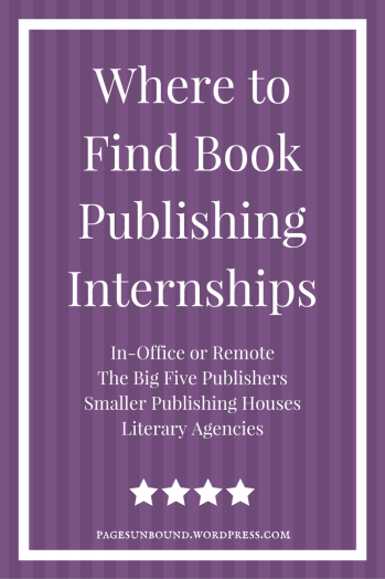 Where to Find Book Publishing Internships