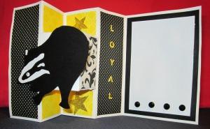 Hufflepuff Card
