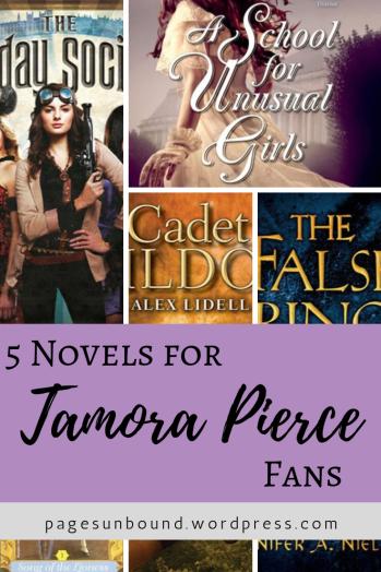 5 Novels for Tamora Pierce Fans