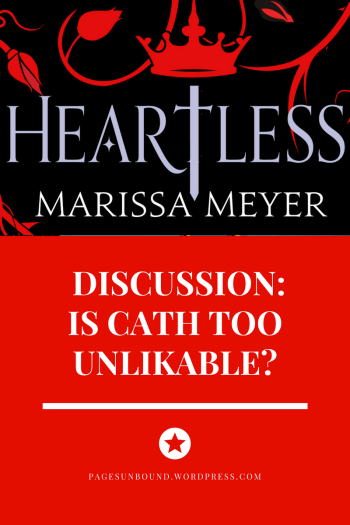 Heartless by Marissa Meyer Spoilers