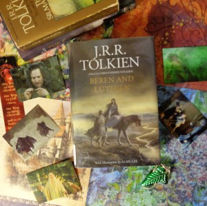 Beren and Luthien by JRR Tolkien Book Cover
