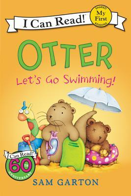 Otter Let's Go Swimming Book Cover
