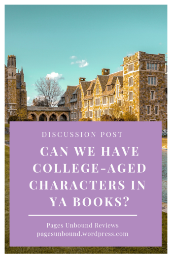 Can We Have College- Aged Characters In Young Adult Books Discussion