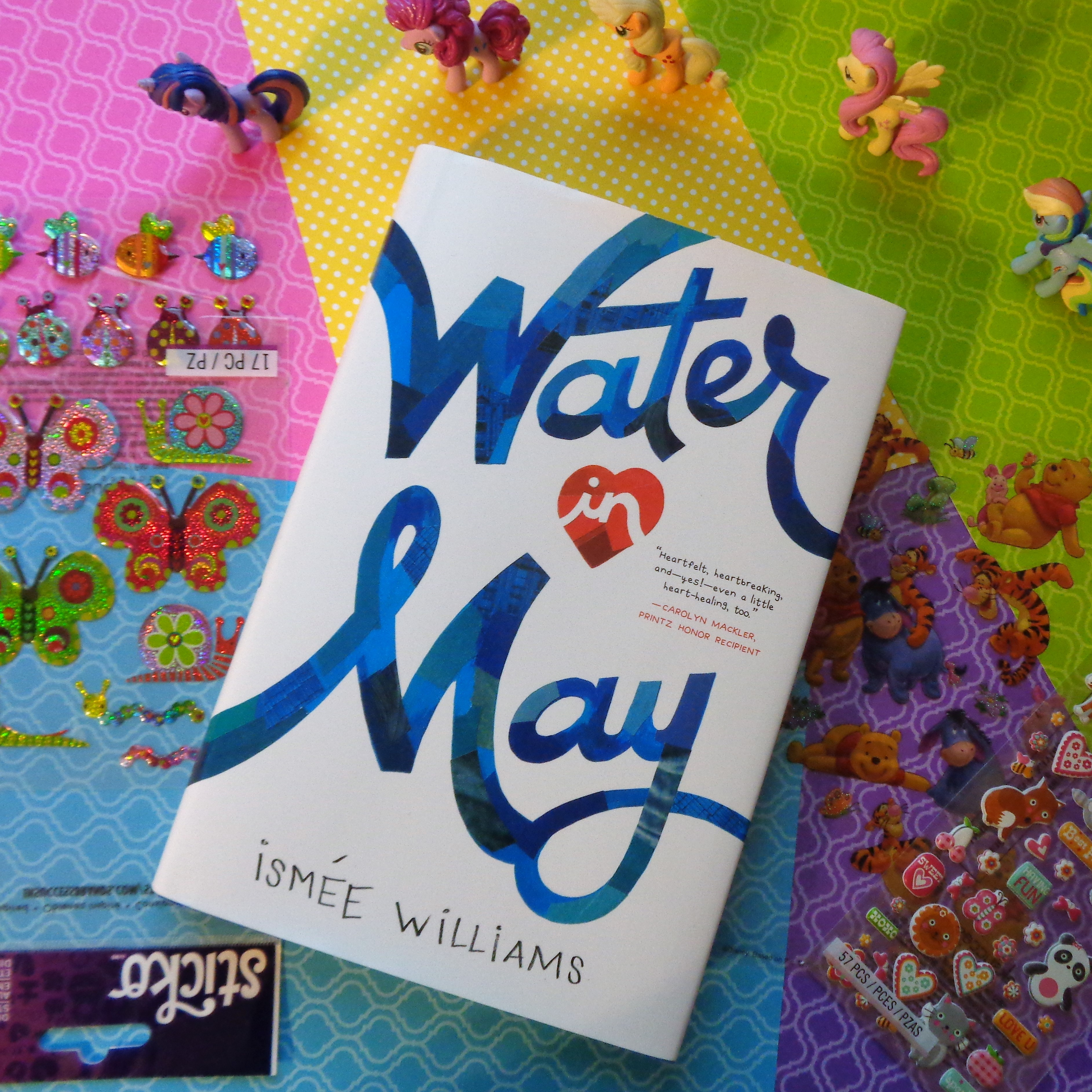 Water in May by Ismee Williams Book Cover