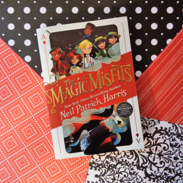 The Magic Misfits by Neil Patrick Harris Book Cover