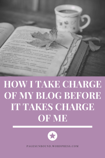Taking Charge of Your Blog