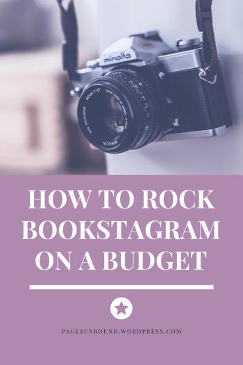 bookstagram on a budget