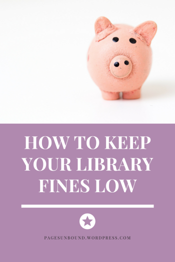 How to Keep Your Library Fines Low