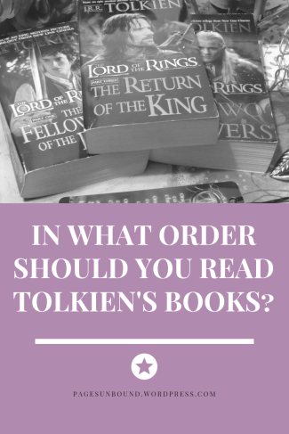 order of Tolkien's books