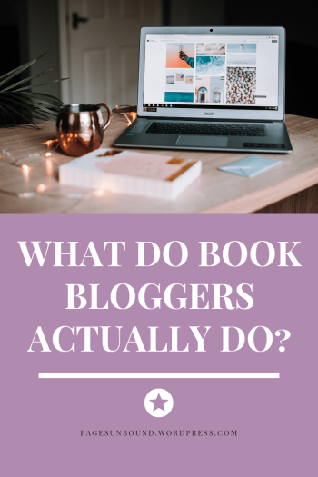 What Do Book Bloggers Do?