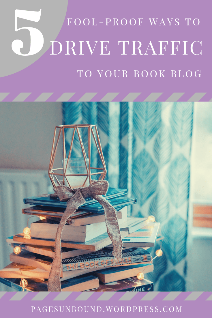 drive traffic to your book blog