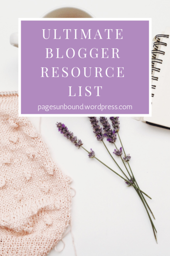 blogger resource list