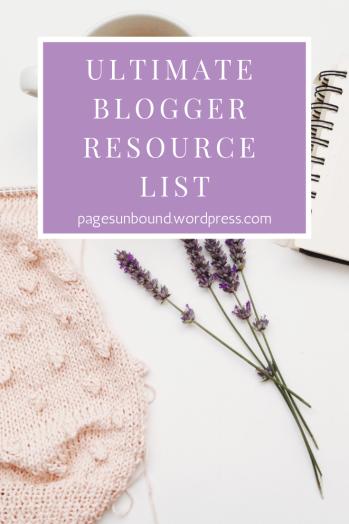 blogger resource list