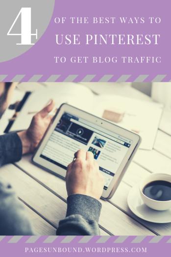 4 Ways to Use Pinterest Marketing to Get Blog Traffic