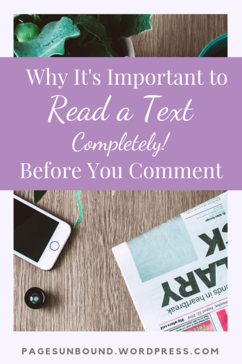 Importance of Reading Full Texts
