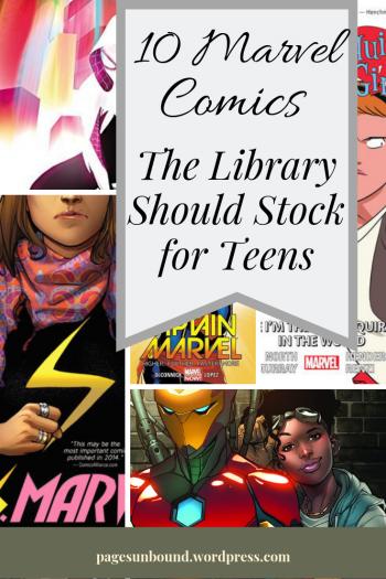 Marvel Comics for Teen Readers
