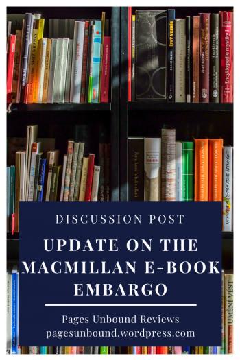 Macmillan Ebook Embargo Update