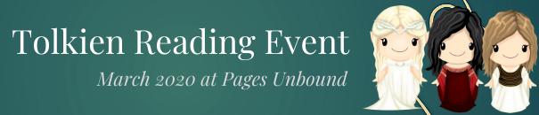 Tolkien Event 2020 banner
