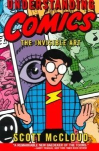 Understanding Comics by Scott McCloud book cover image