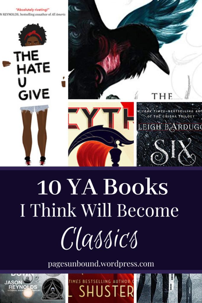 10 YA books will become classics