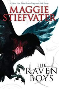 Raven Boys book cover
