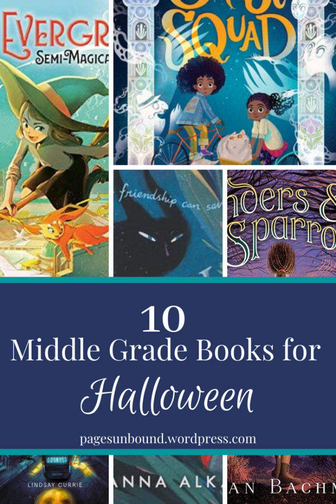 Middle Grade Novels for Halloween
