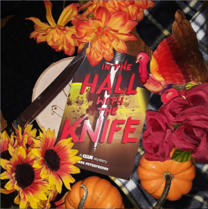 In the Hall with the Knife instagram photo