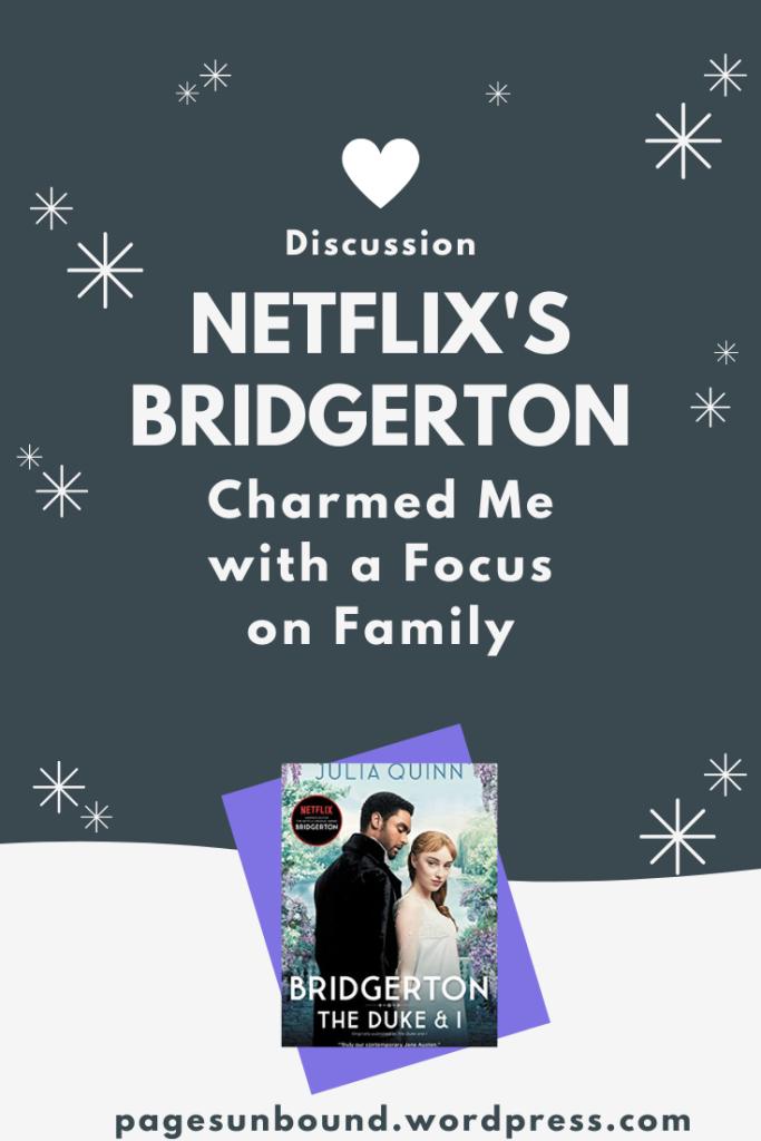 Bridgerton The Duke and I Discussion Post