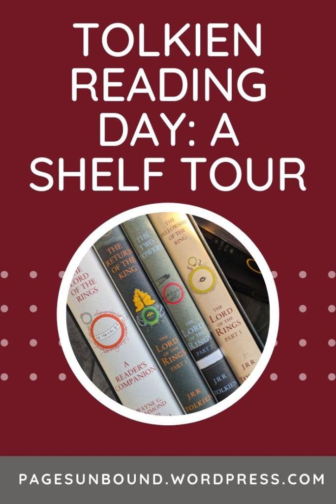 Tolkien Collection Shelf Tour Guest Post