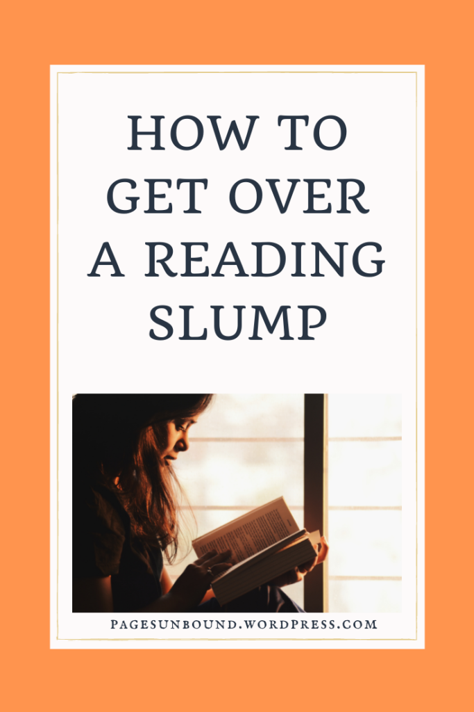 How to Get Over a Reading Slump